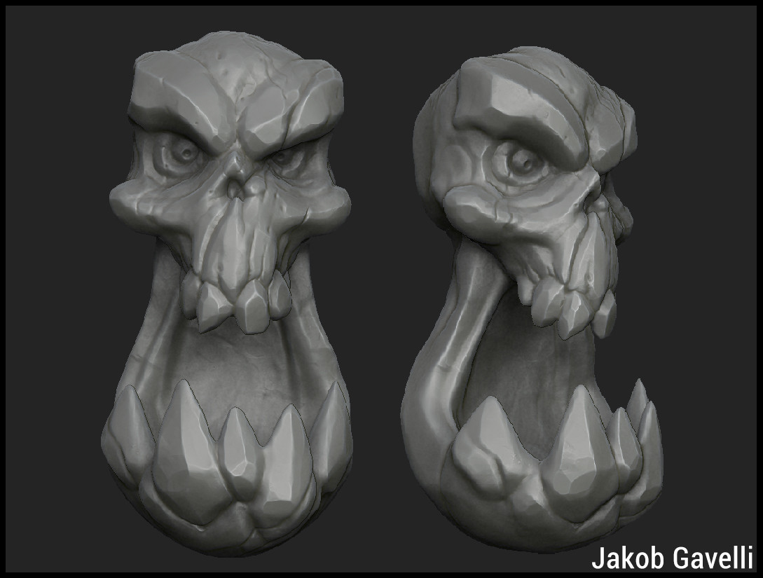 Jakob gavelli jg skullpic