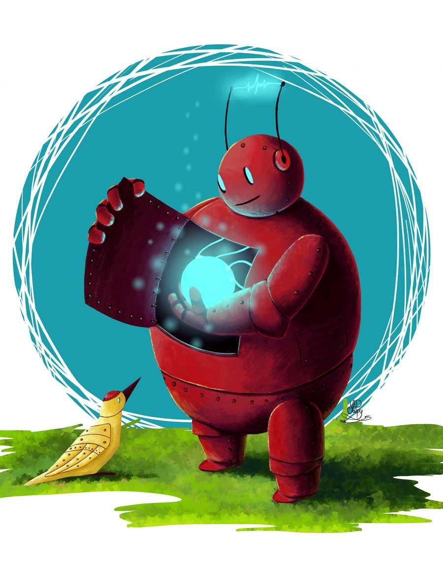 Yana popova yappy android robot web