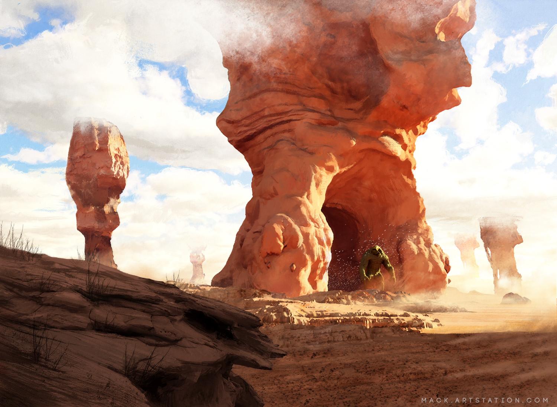 Mack sztaba desert giant