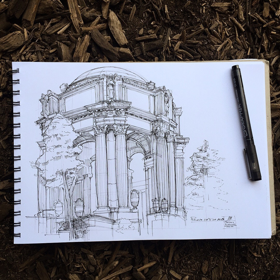 Palace of Fine Arts, San Francisco.