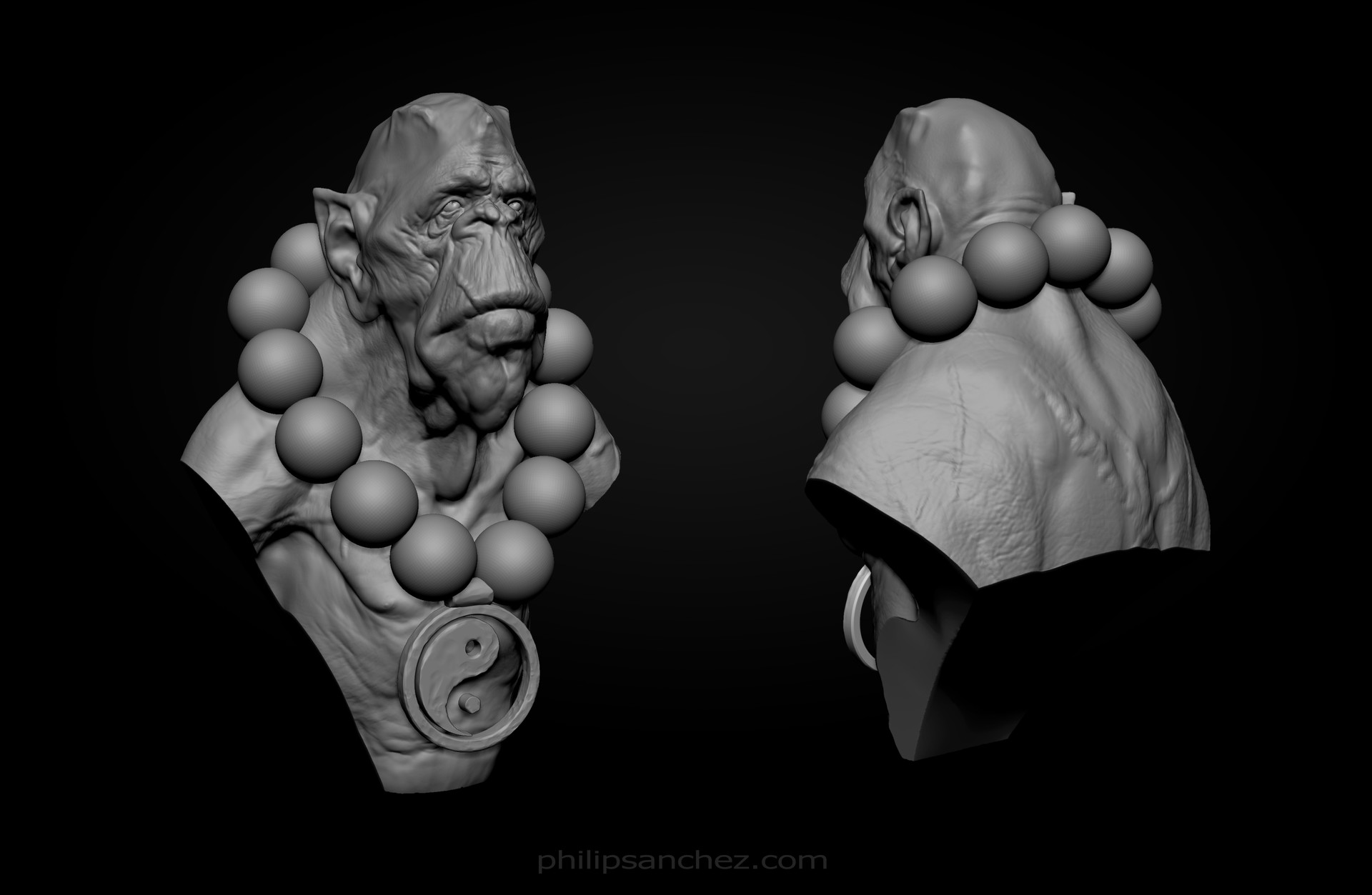 Philip sanchez frontback sculpt