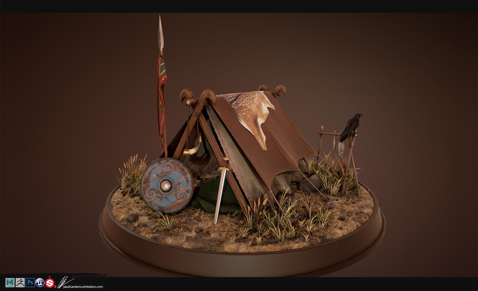 Viking Raider Camp