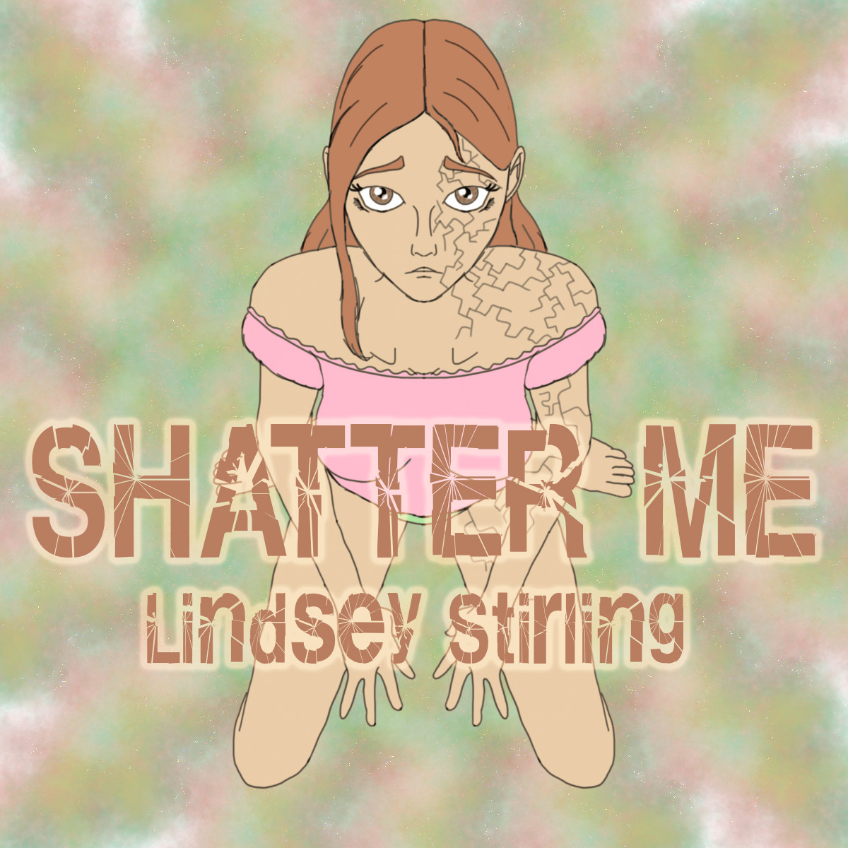 Album Cover Redraw Album: 'Shatter Me' by Lindsey Stirling