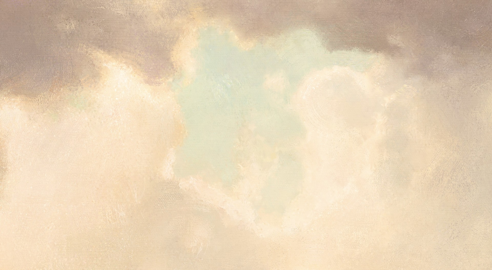 pastel color accents and some custom smudge brushes for some smooth looking painterly clouds