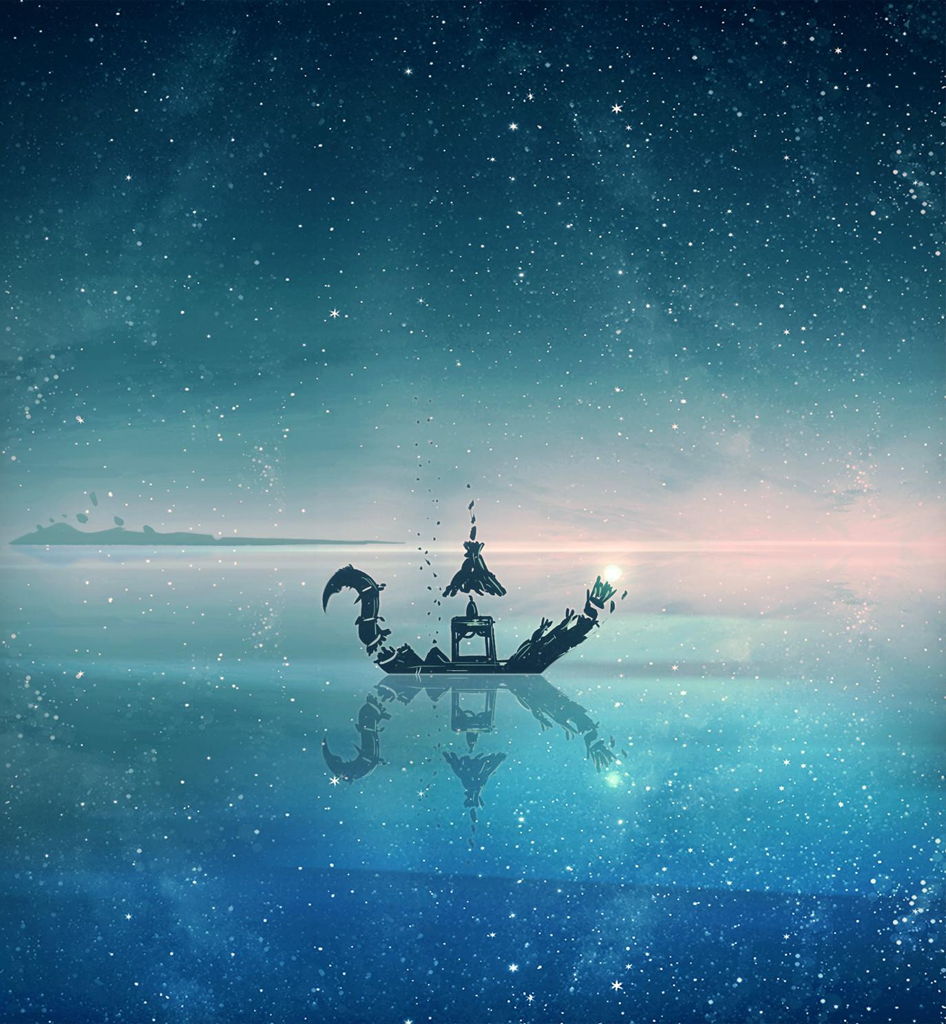 Christian benavides pescando en el mar dle universo