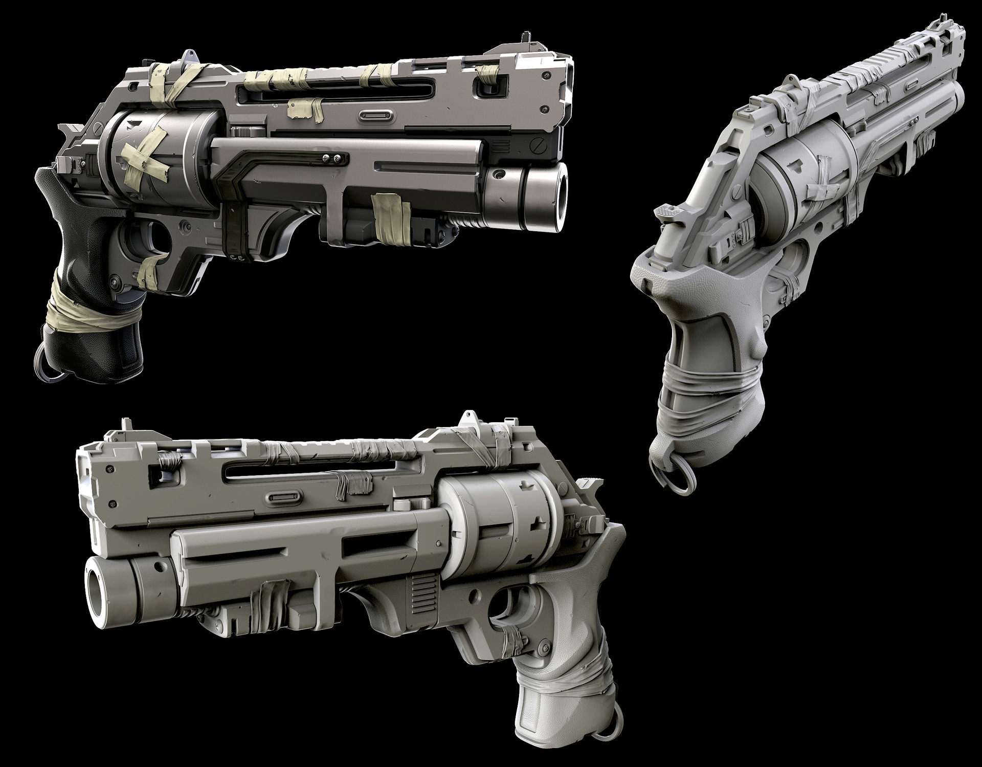 Drongo's Revolver