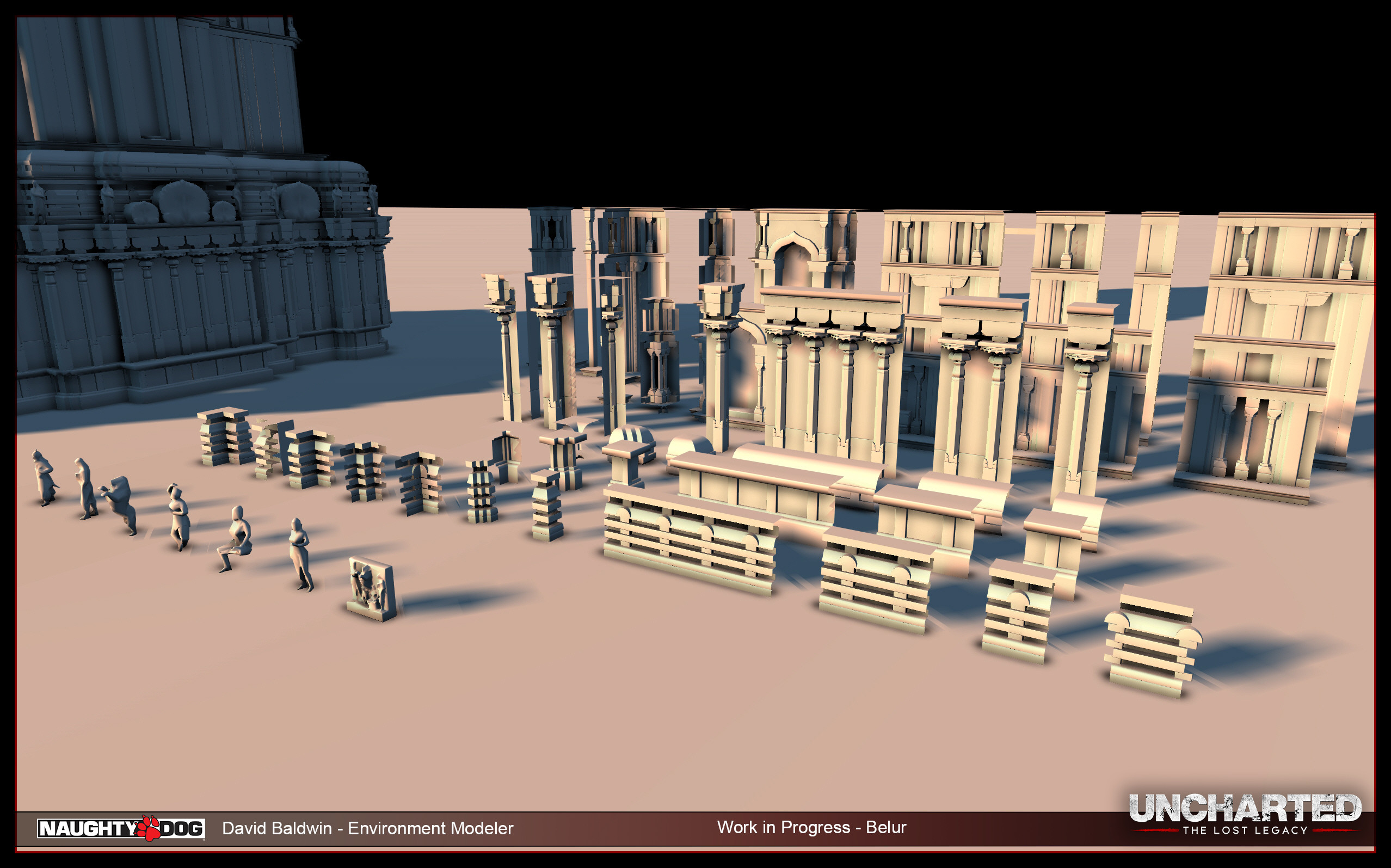 Belur - WIP - wall's and trims