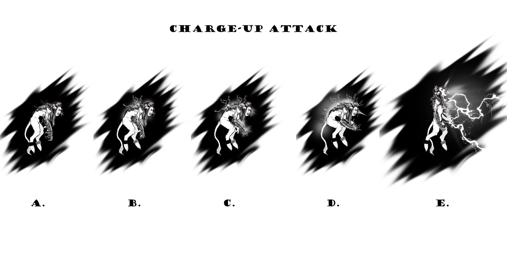 Charged Attack Animation Sprites