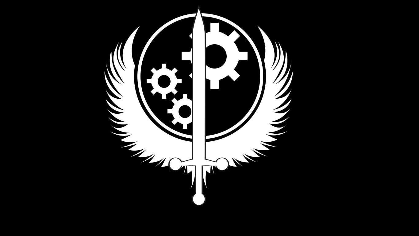ArtStation - Brotherhood of Steel Insignia (custom), Akash ...