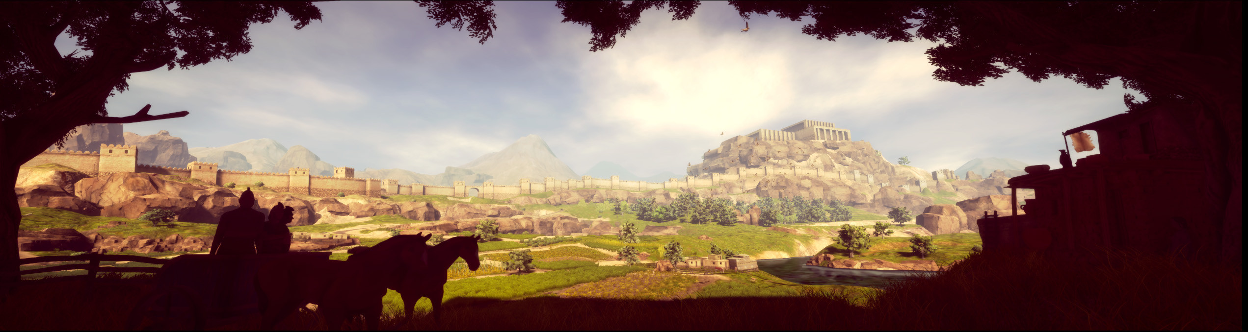 Hittite Village, screenshot from midday