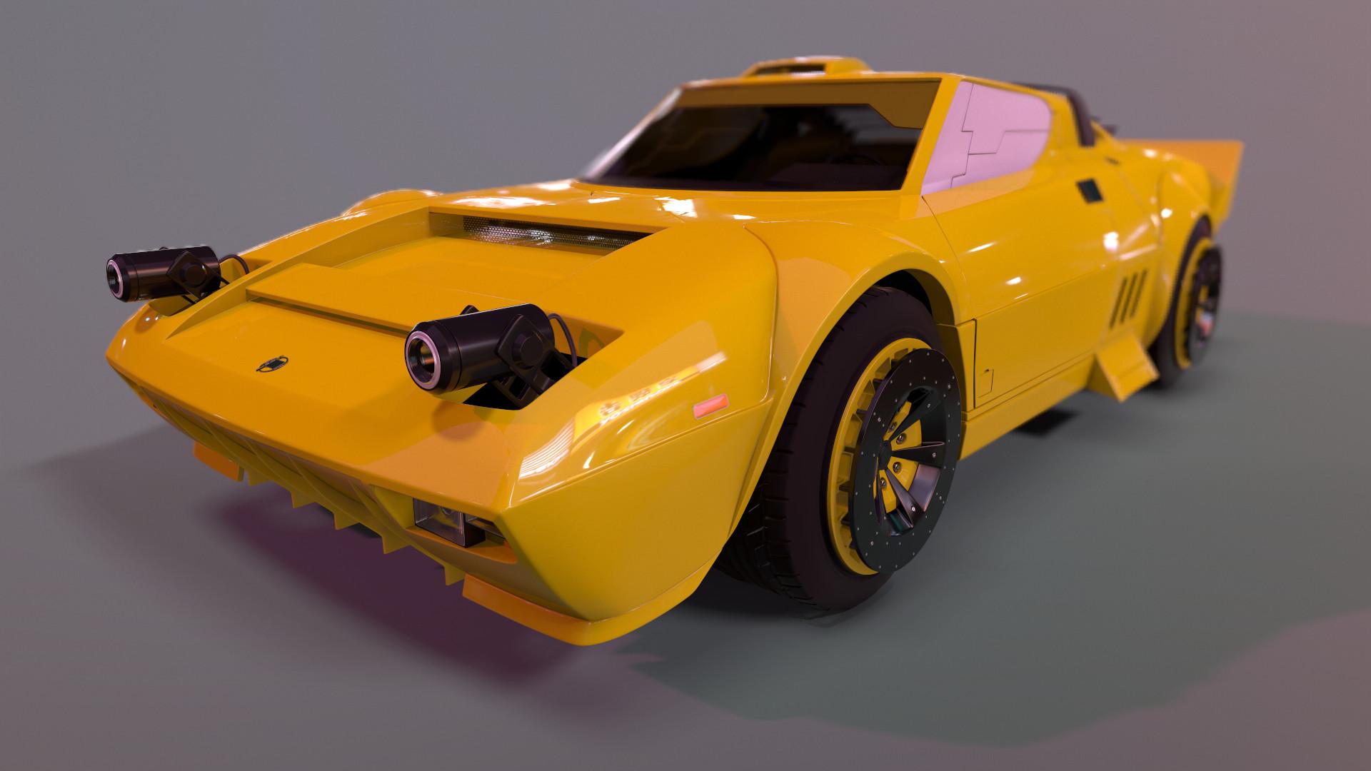 Batou's Car