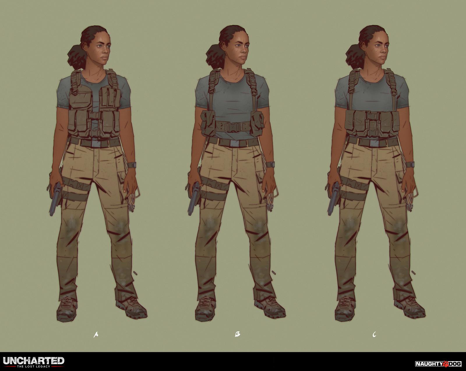 Tactical vest explorations