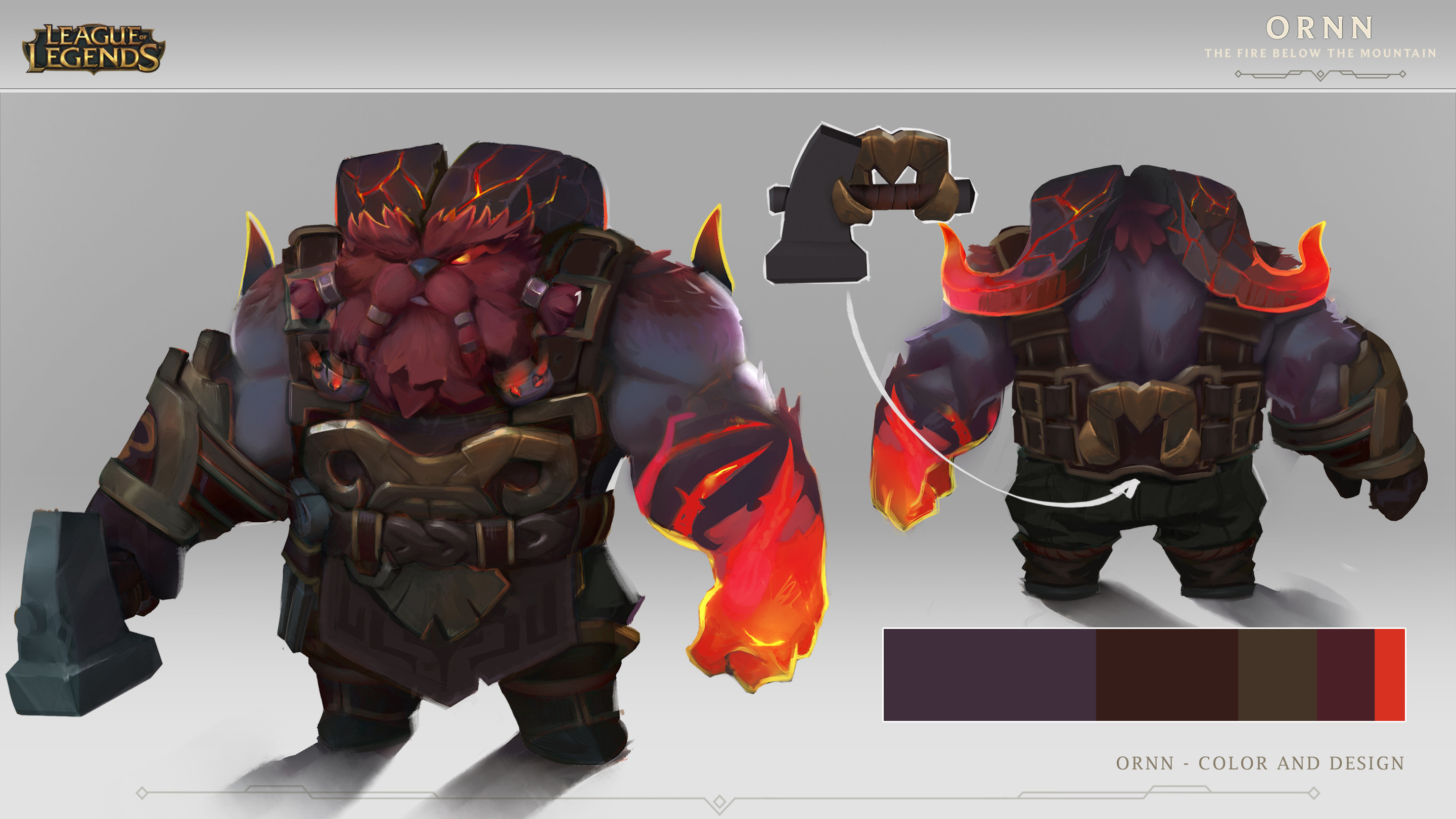 Ornn color and design