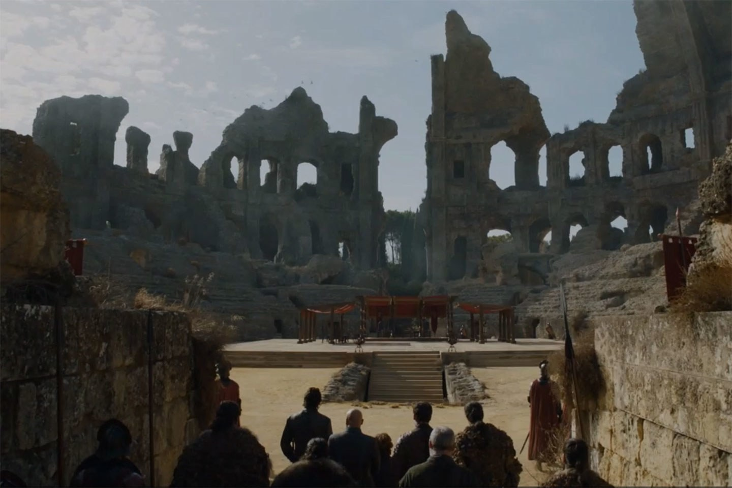 screengrab of how the dome looks in the episode, if i find a higher res image i'll put it up!