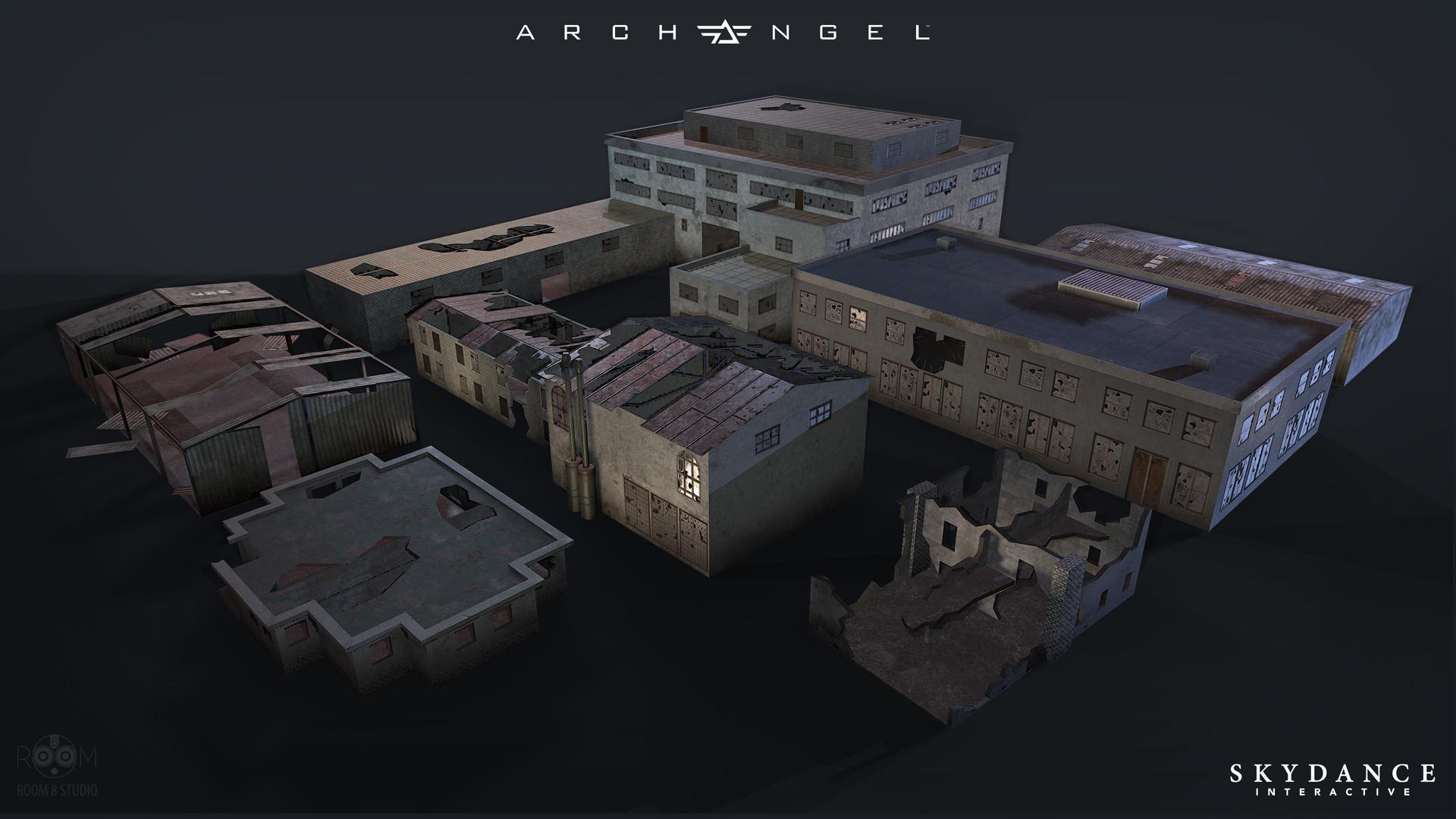 Room 8 studio warehouses destroyed