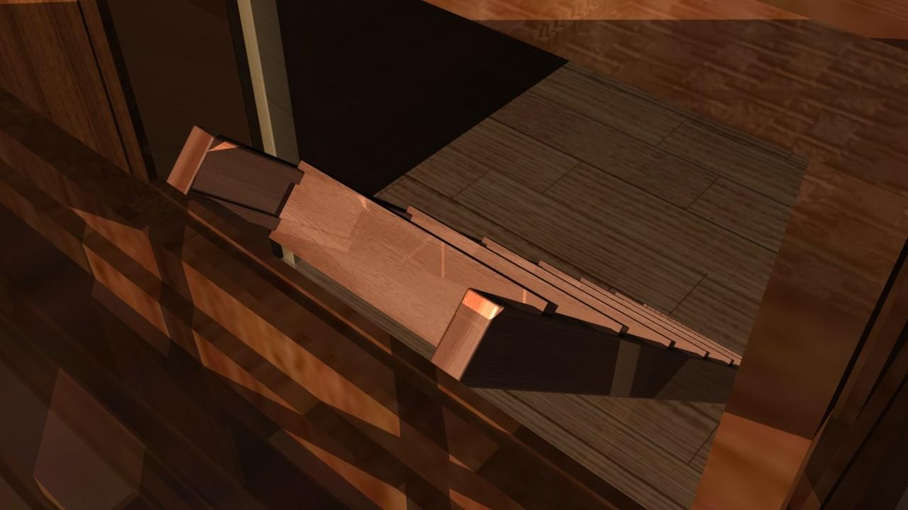 Vesper jsvira s 6 close up of hidden passage with stairs