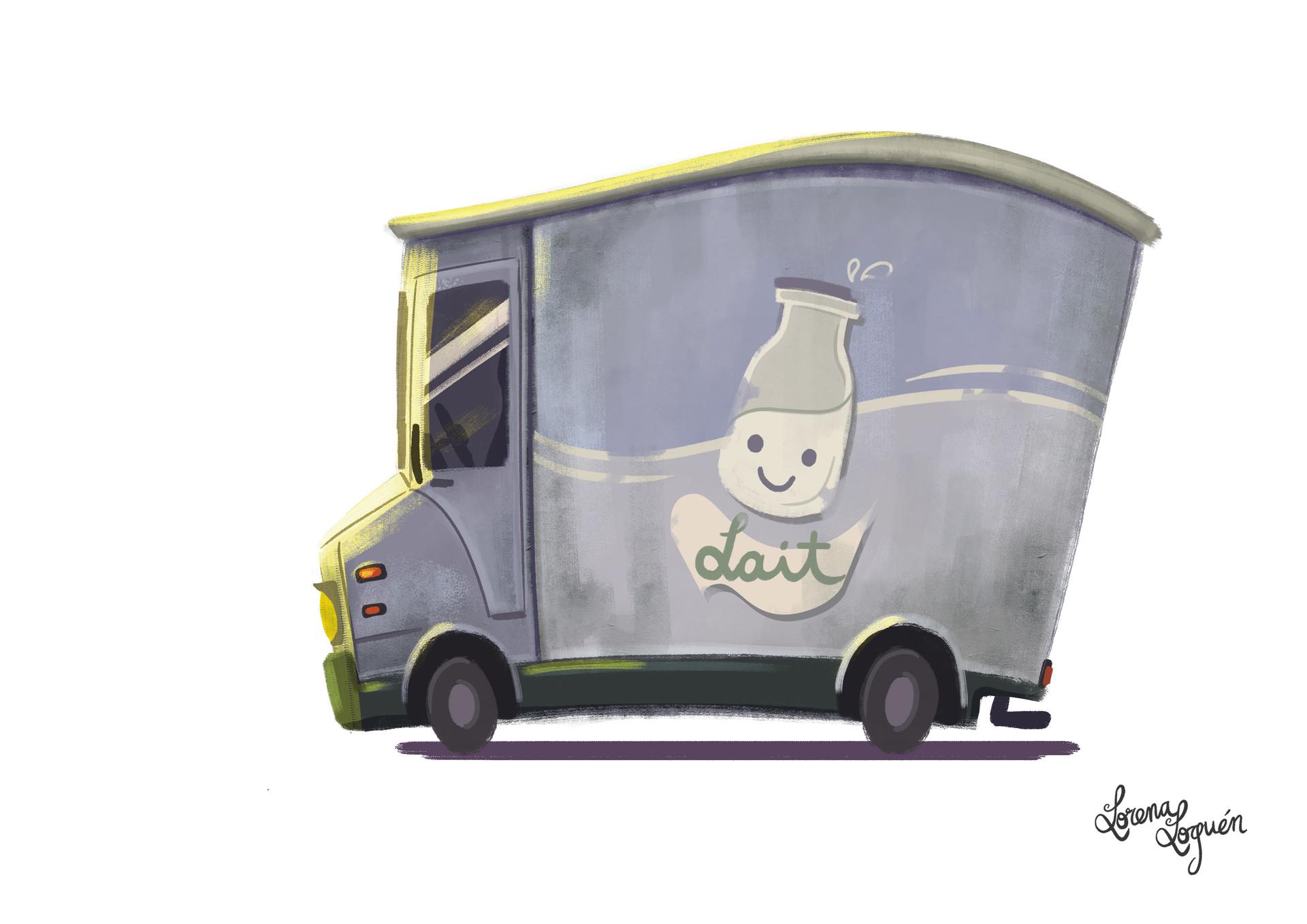 """Je t'aime"" Concept of the ""clean"" van"