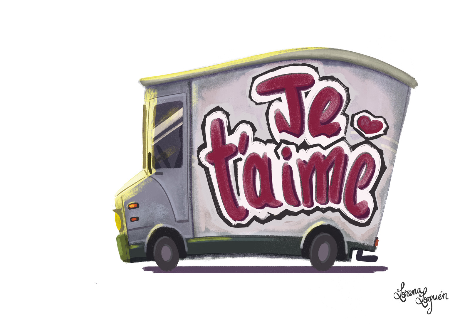 """Je t'aime""