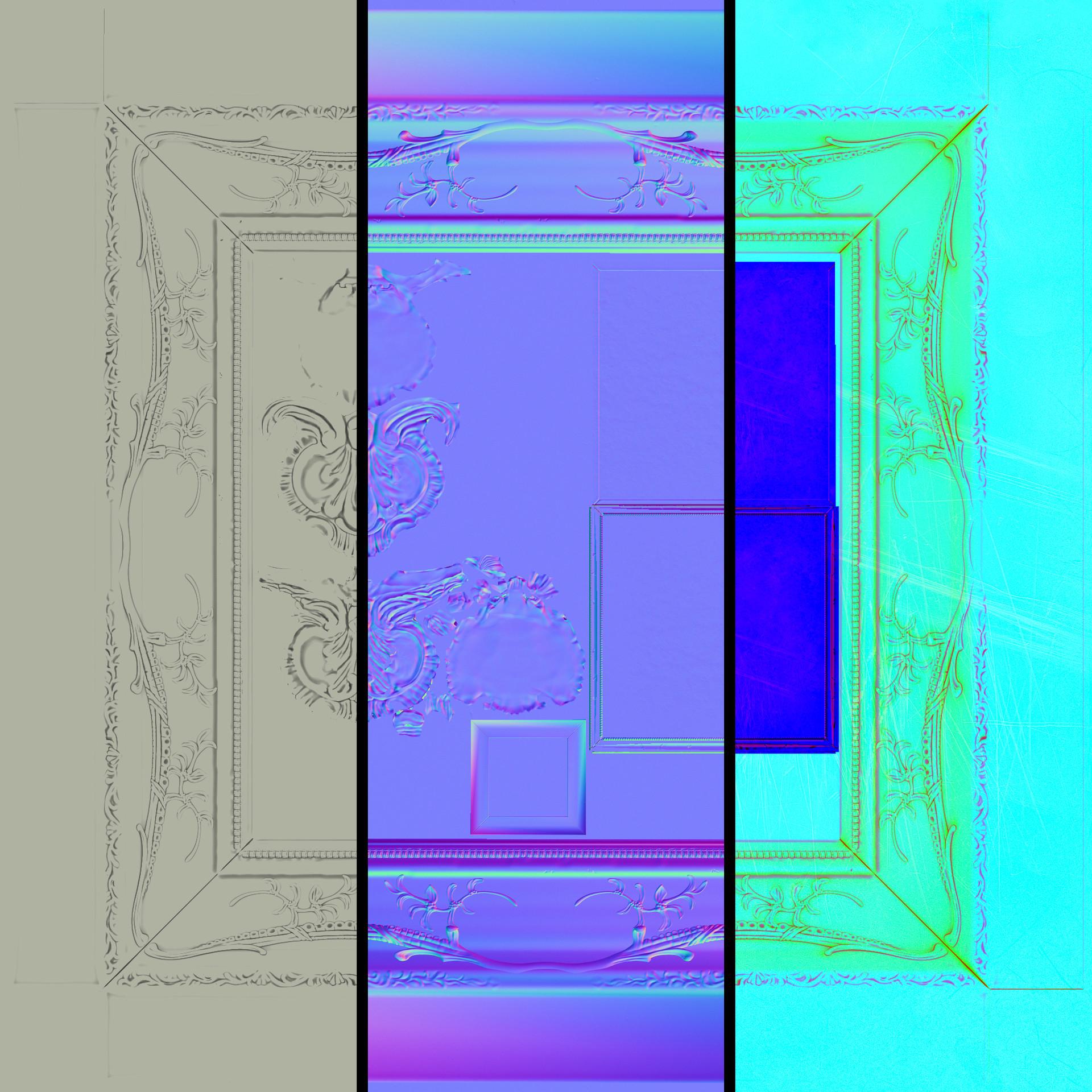 Caleb arthur mirror texture breakdown