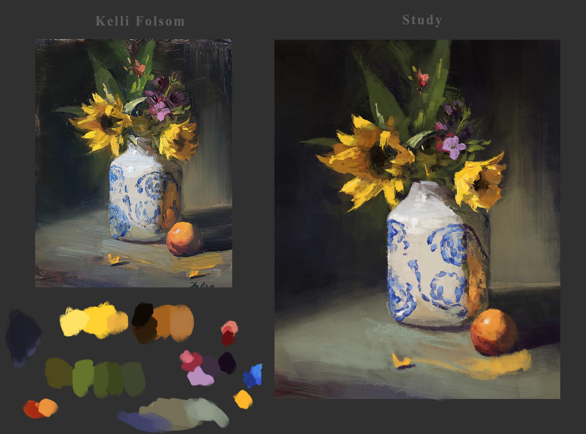 Waqas malik sunflowers in jar by kelli folsom
