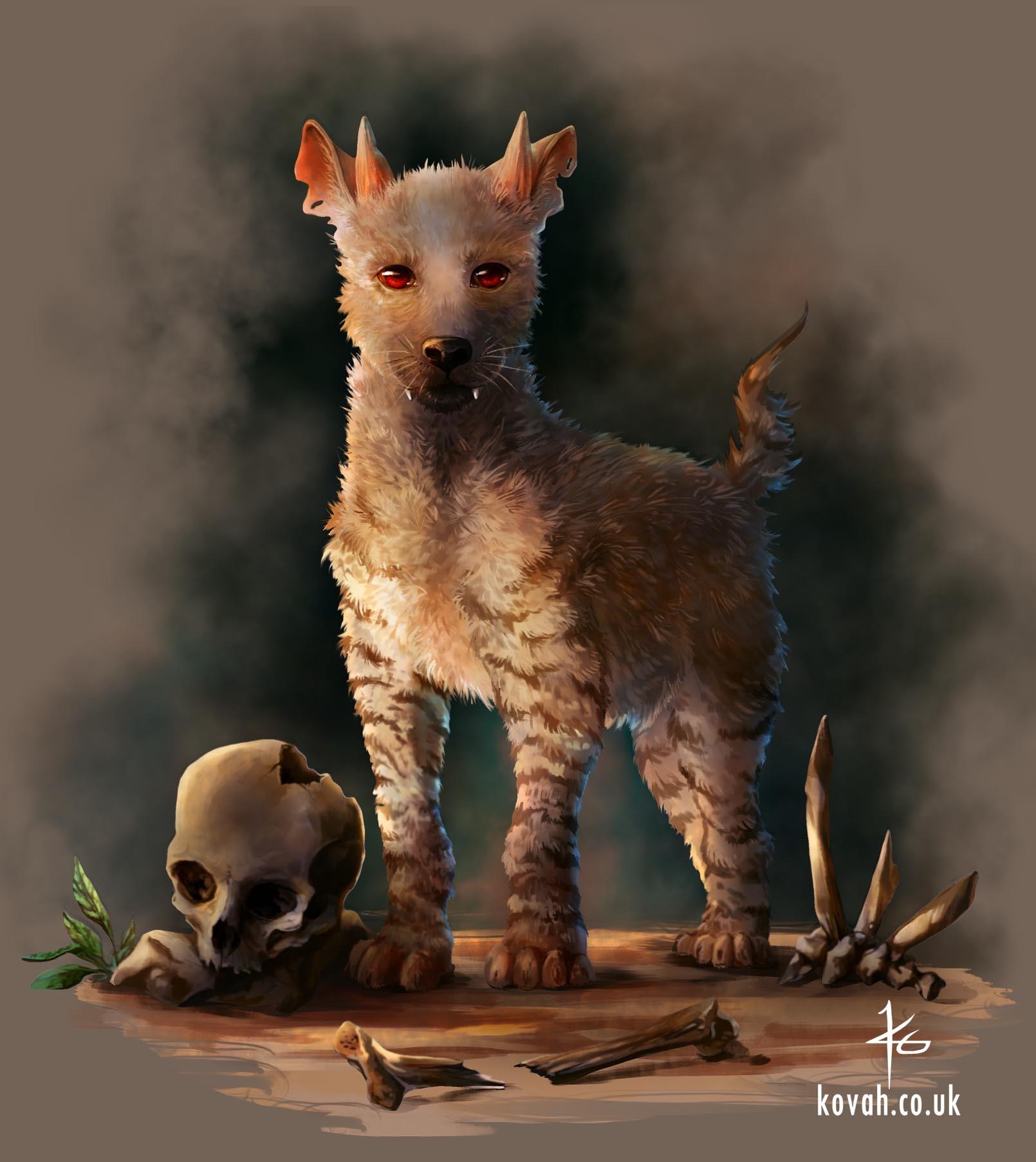 Katy grierson hellhound puppy
