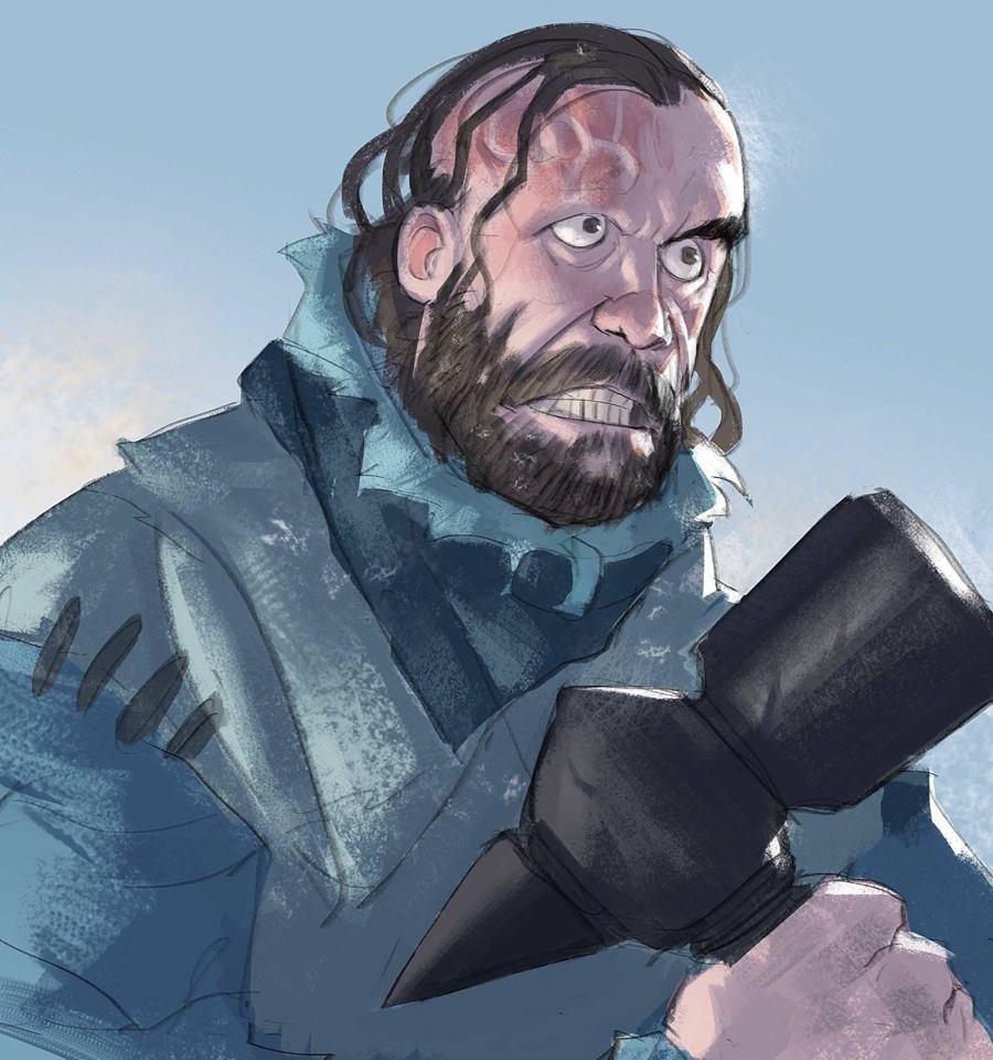Sandor Clegane! one of my favorites so far... Cunt