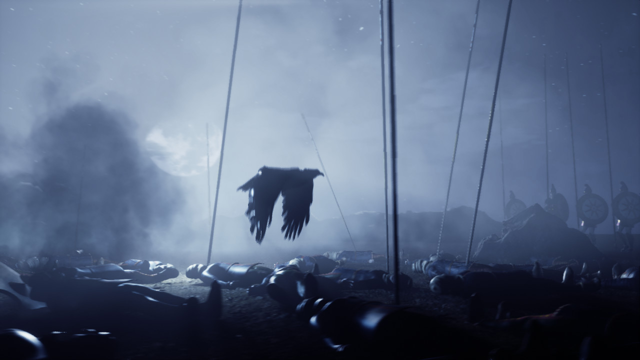 Screenshot from after the battle