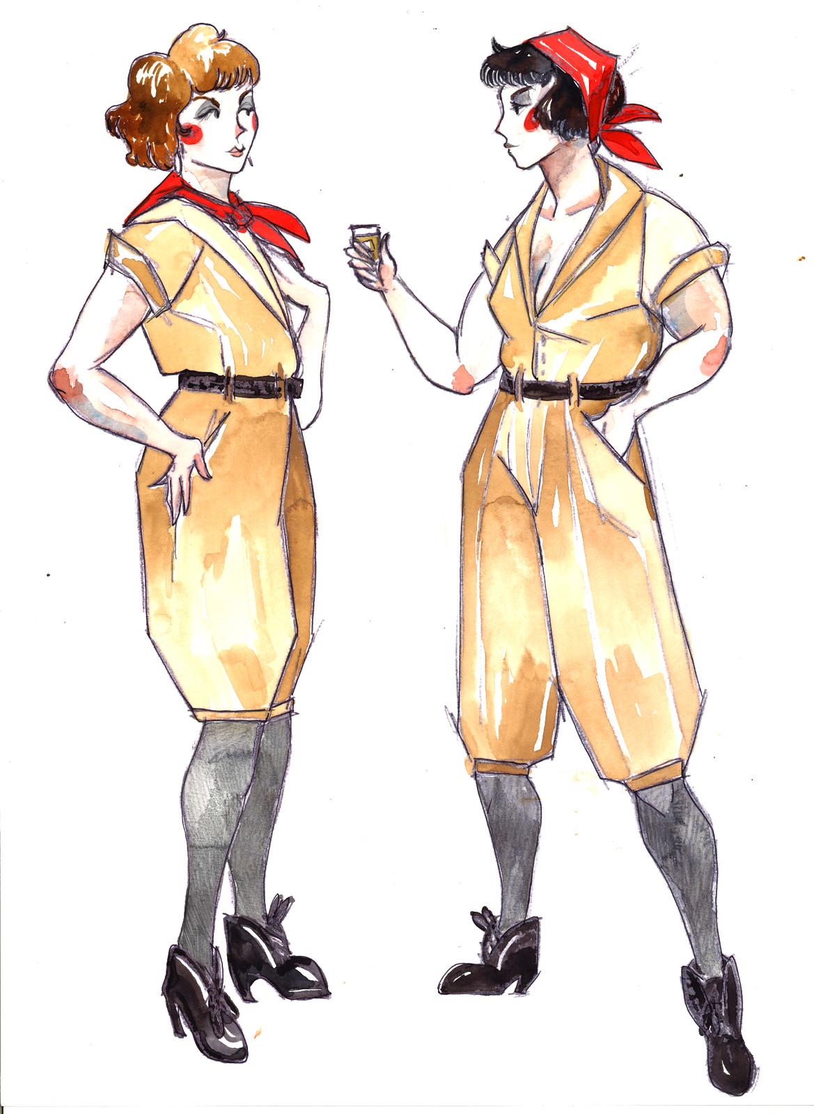 Zinka and Groonya