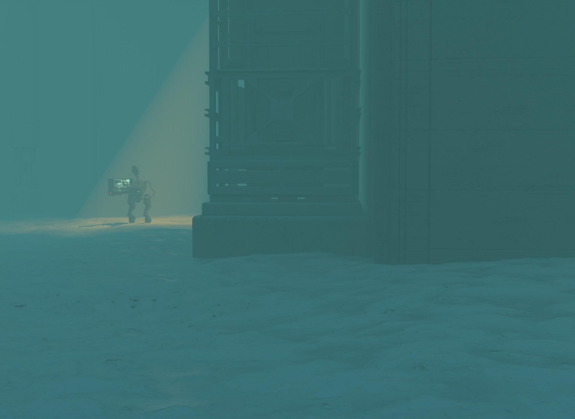 Ben nicholas bennicholas metalgear mkii shadowmoses 02
