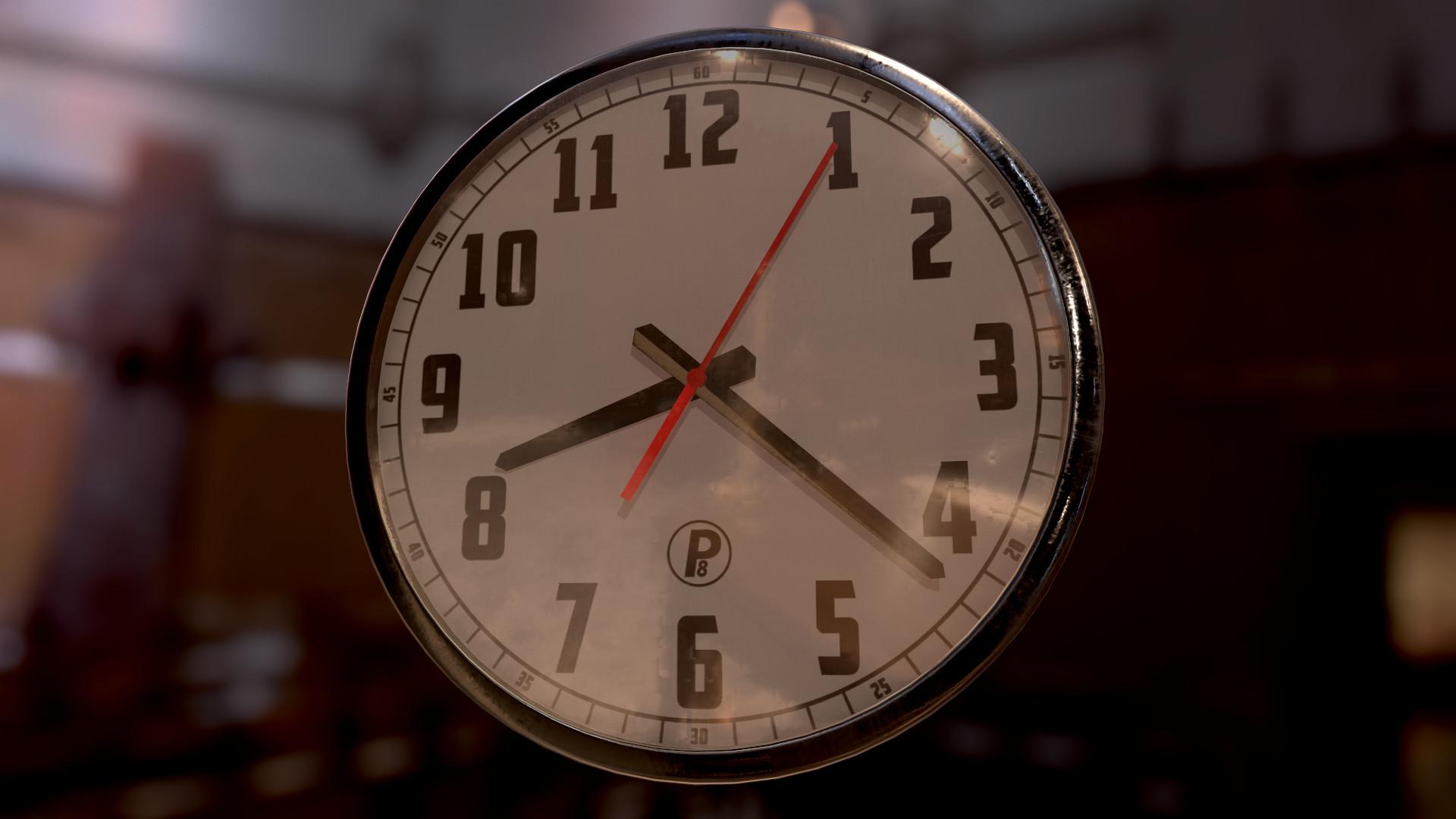 it's time !!! 3D Clock