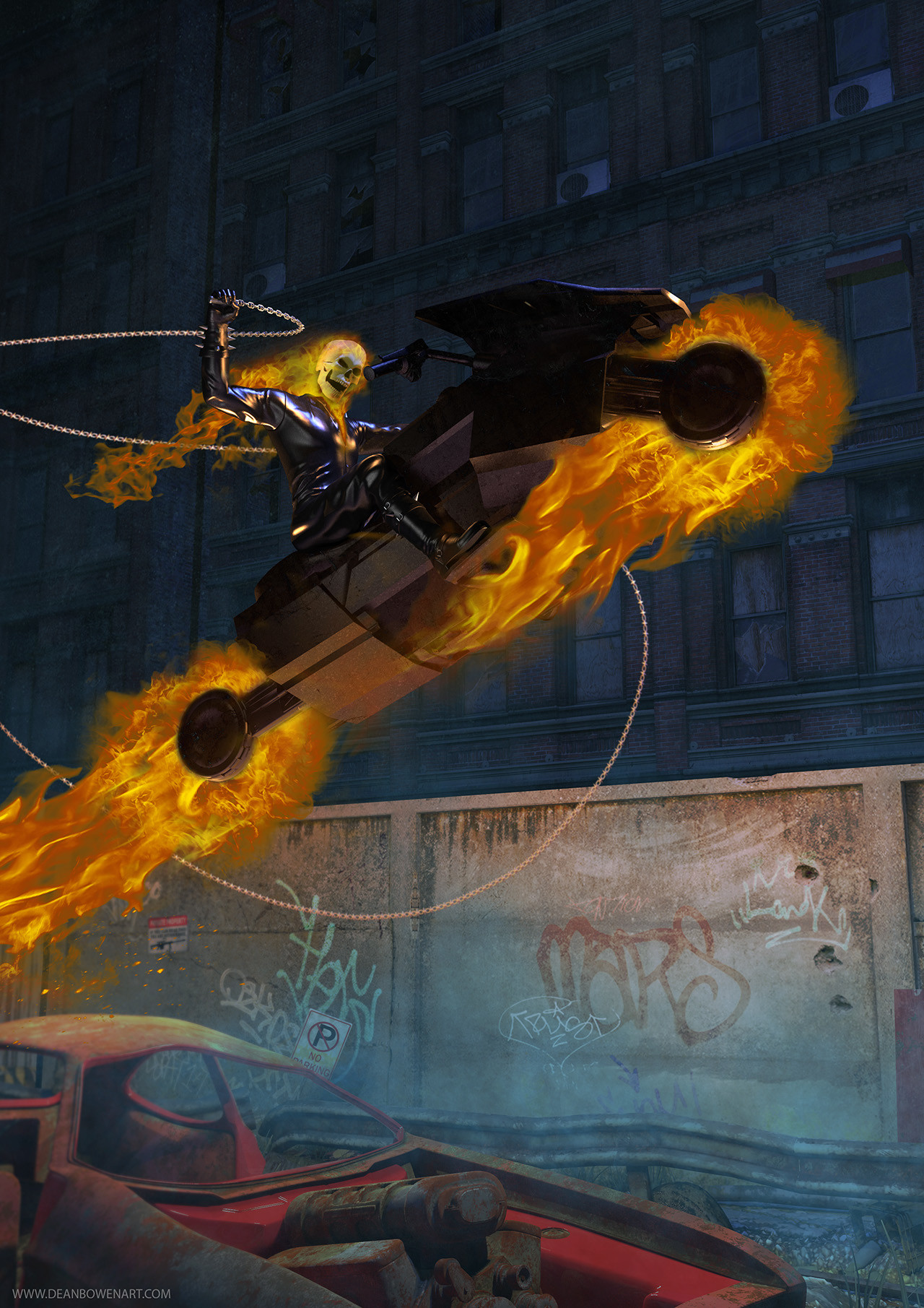 Dean bowen ghost rider resize