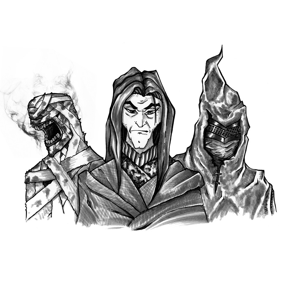 The three Warlocks