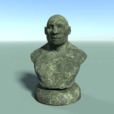 Alexander volynov bust 001