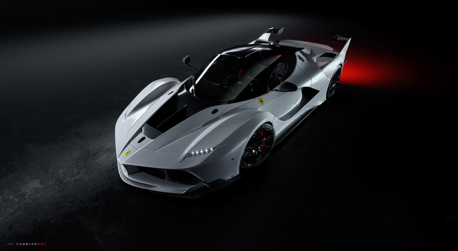 Ferrari FXXK 3rd winning entry @ AutomotiveCGI challenge.