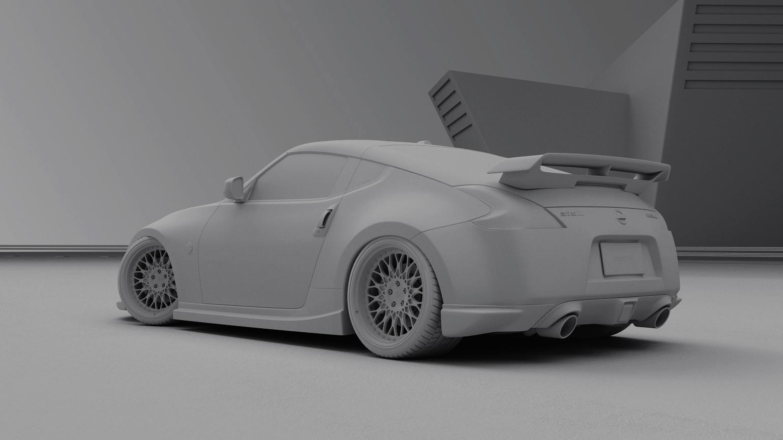 Nissan 370z - Clay