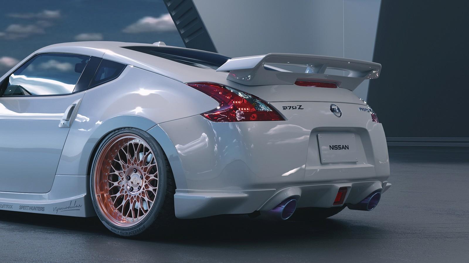 Nissan 370z - CGI