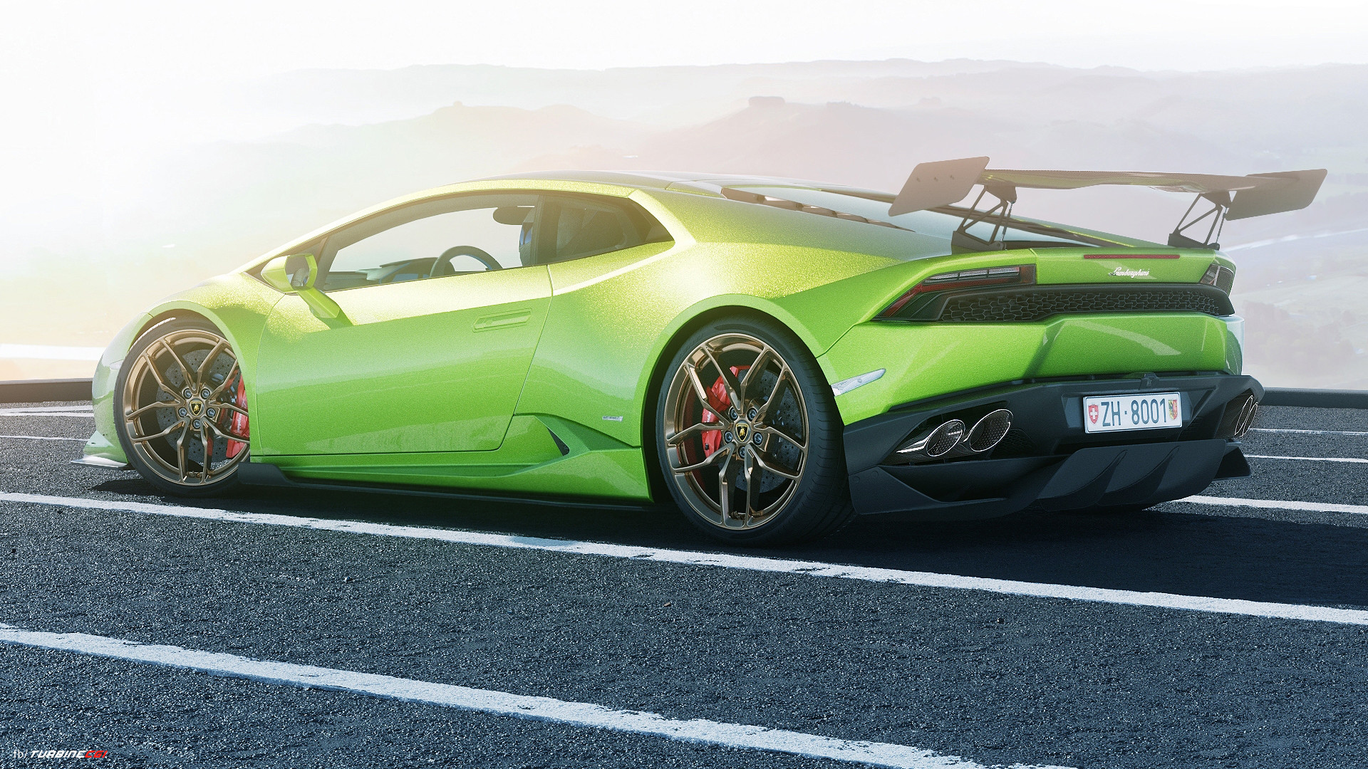 Lamborghini Huracan - CGI