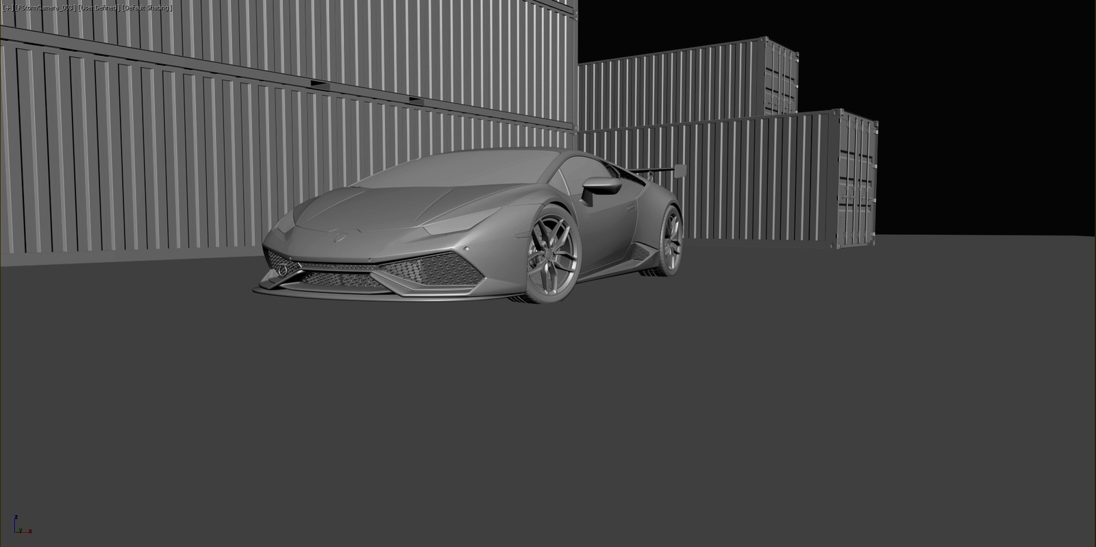 Huracan - shaded view