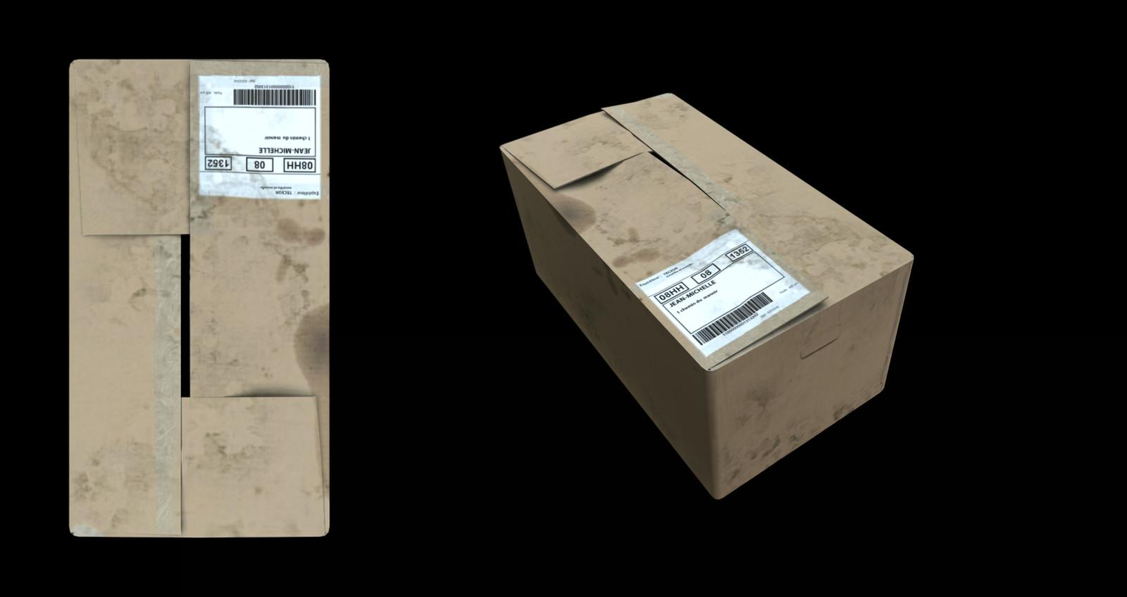 Asset cardboard