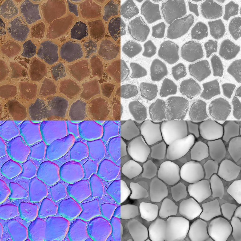Felipe sanin stonefloor textures