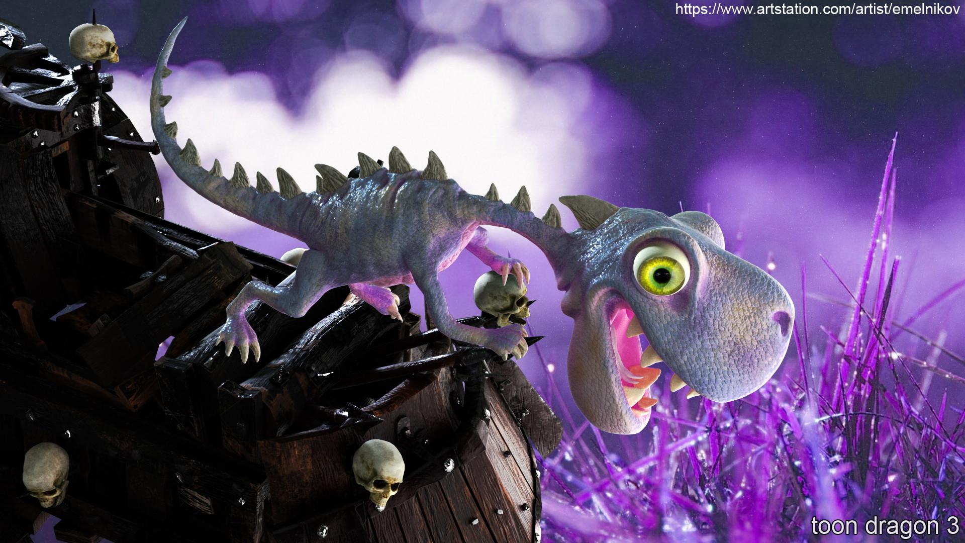 Eugene melnikov toon dragon 3 4 c