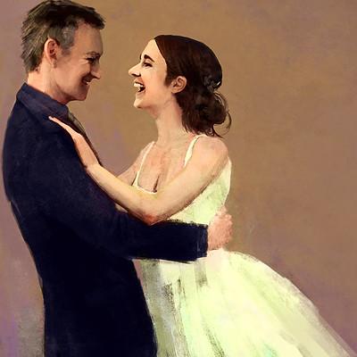 Neil billings wedding dance