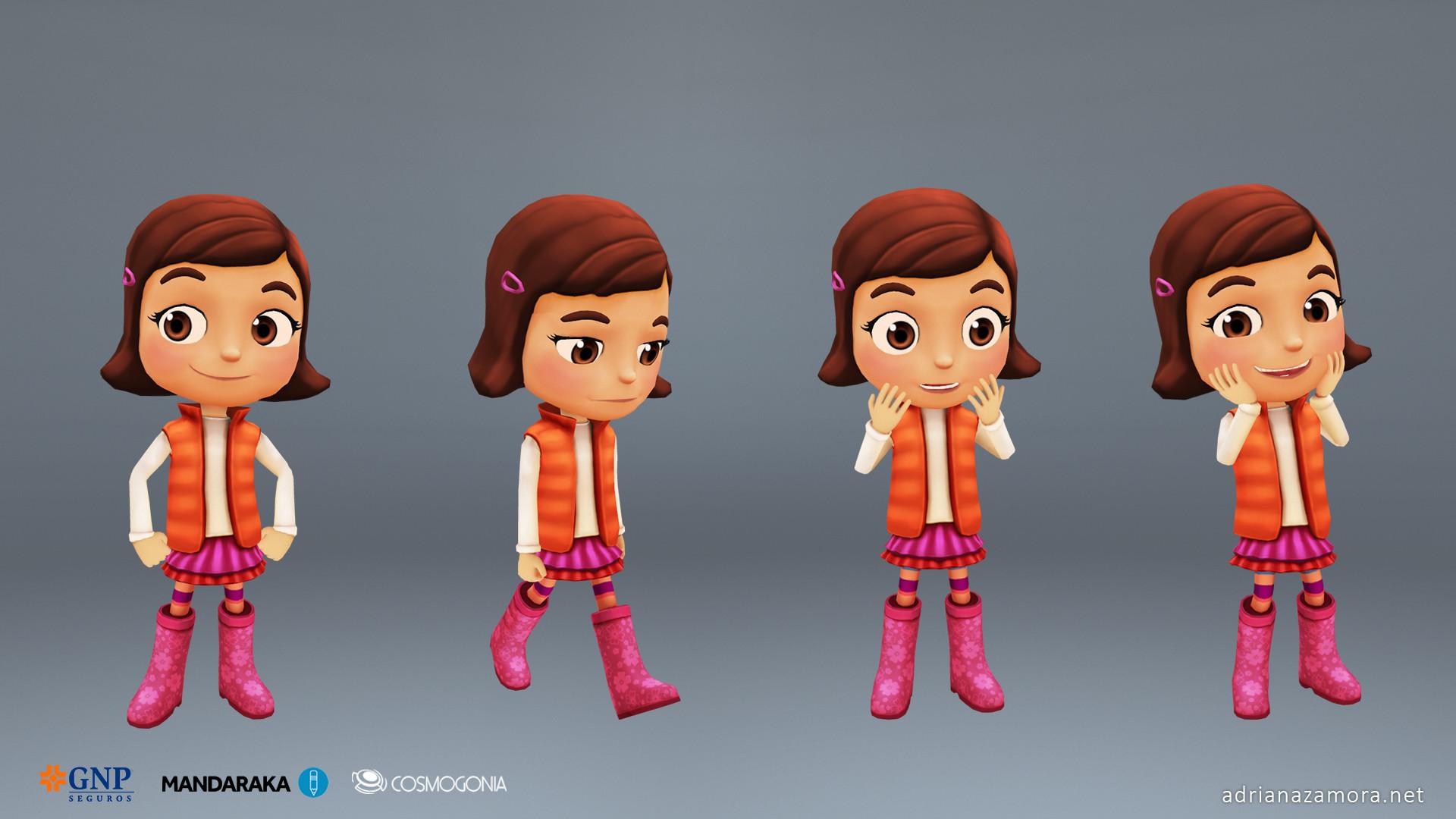 Adriana zamora stylizedcharacters 2 adrianazamora