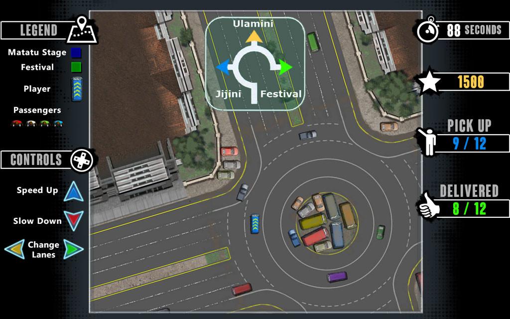 Taxi minigame