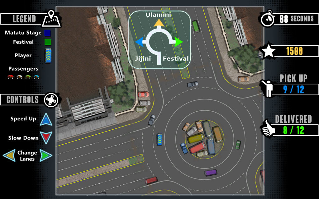 Taxi minigame