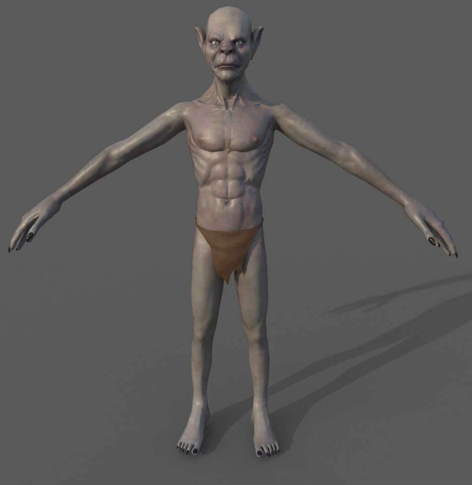 Ghoul Low Poly