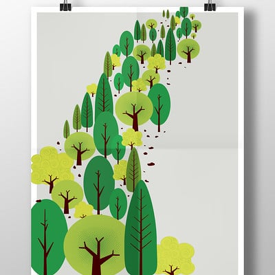 Rajesh sawant trees poster