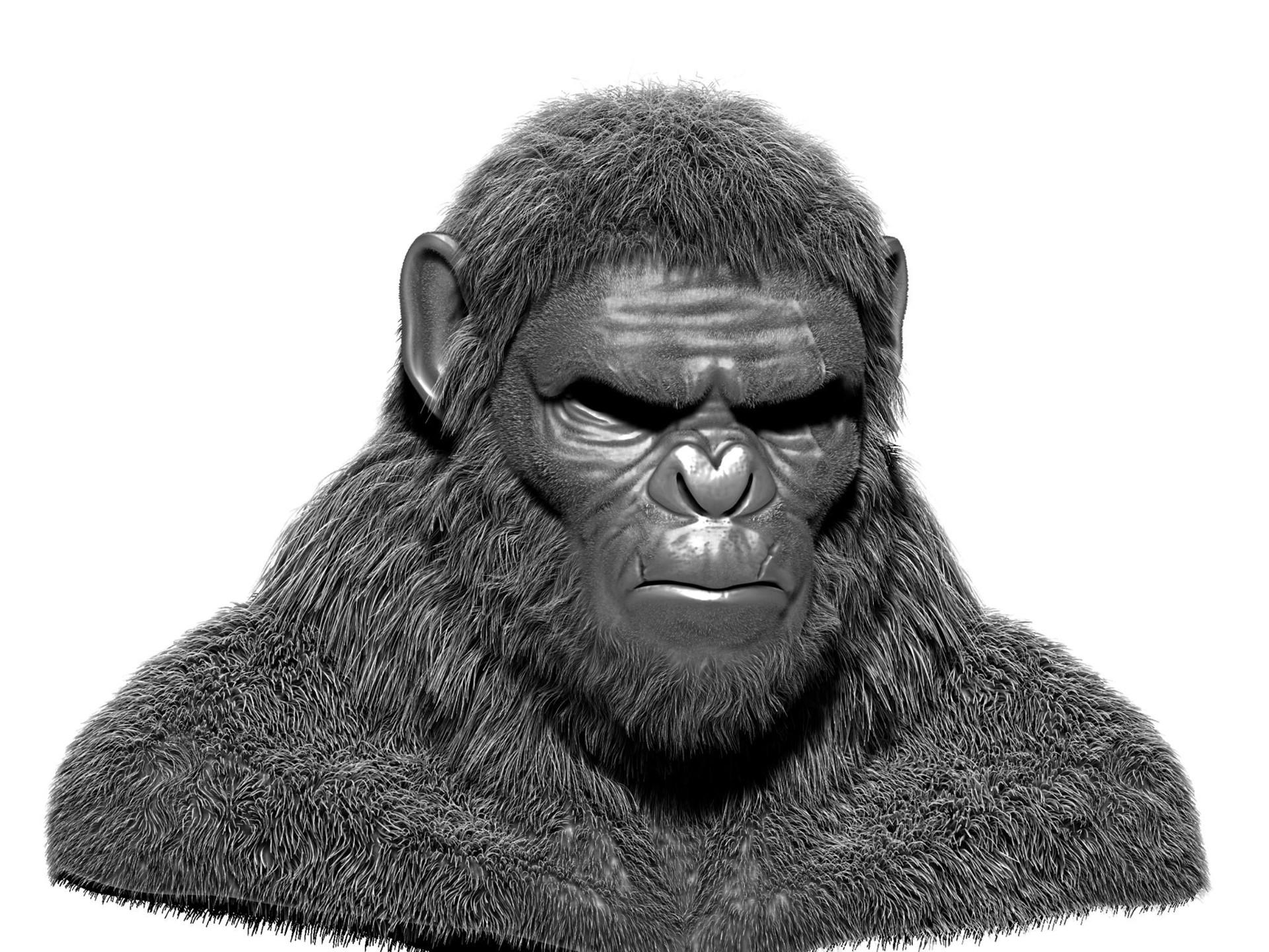 Artstation Koba War For The Planet Of The Apes Black Star