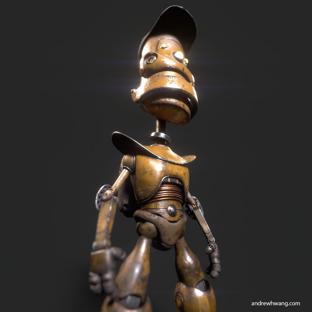 Warble robot