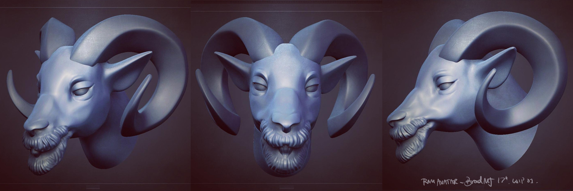 Bradley morgan johnson sculpt wip 1 insta
